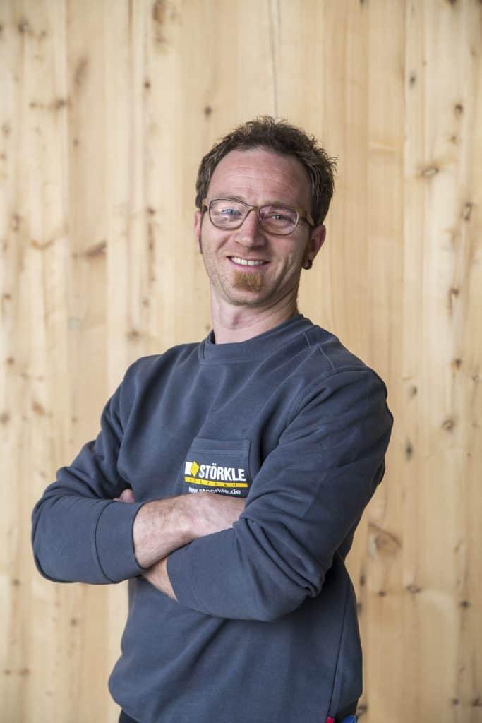 Zimmerermeister Steffen Burkhardt, designierter Nachfolger von Udo Störkle